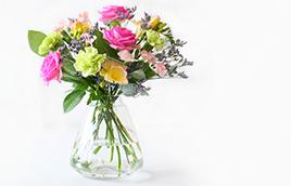 Brievenbus bloemen