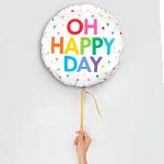 Happy day ballon