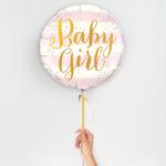 Baby girl ballon