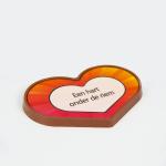 Chocolade 'Een hart onder de riem'