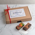 Brownie Feestje box M&M's & Oreo