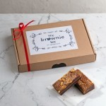 Brownie Holland box pindakaas & stroopwafel