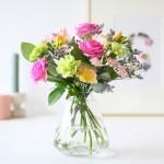 Brievenbus bloemen mix