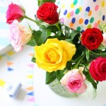 Brievenbus rozen feest