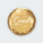 Jij bent goud waard ballon