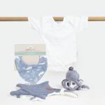Geboorte cadeau ocean blue