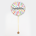 Ballon 'Congratulations'