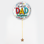 Thank you dad! ballon
