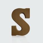 Chocoladeletter - S melk