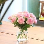 Brievenbus rozen licht roze