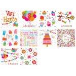 Wenskaarten Verjaardag vrolijk
