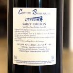 Saint Emilion & Domaine d' Elise Chablis