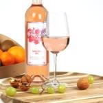 Fruitmand rosé wijn