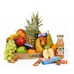 Fruitmand snoep standaard