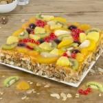 Luxe vruchtentaart