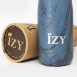 IZY Thermo fles Design blauw