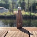 IZY Thermo fles Design bruin