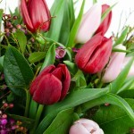 Boeket Dani rood-roze